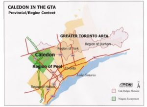 Caledon, Ontario Map