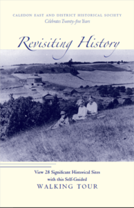 History of Caledon East - Walking Tour